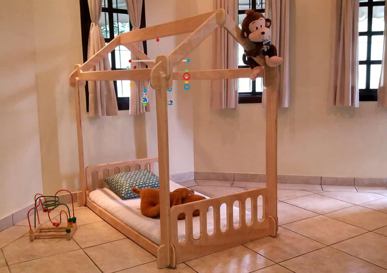 Casinha de Montar4 - Móveis montessorianos para crianças