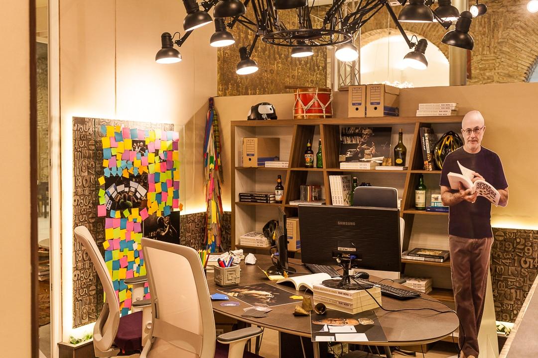 Lucas Oliveira 8852 - Um Home Office descolado para Silvio Meira