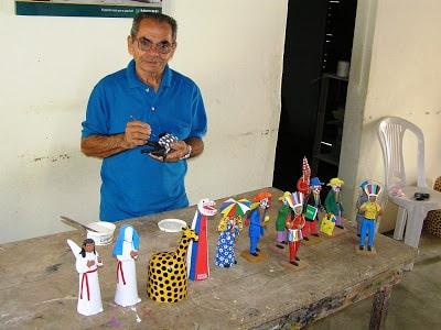 Imagen 001 - Mestre Eudócio: conheça o ceramista homenageado na 17ª Fenearte