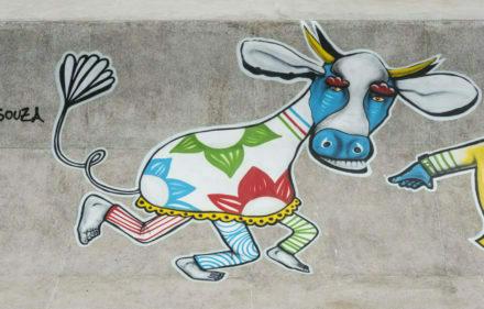 Grafittes Galo 18012017 ©FredJordao 9586 440x281 - Grafite dá o tom do carnaval do Recife