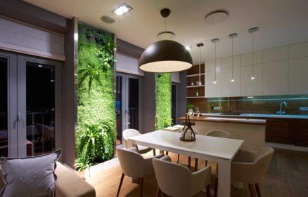 Jardim.Vertical.Cozinha 440x281 - Como montar jardins em pequenos espaços