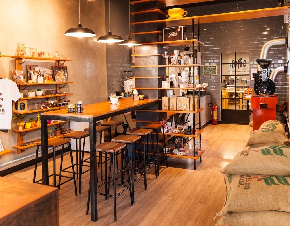 Lucas Oliveira  - Confira o projeto de arquitetura criado para o Kaffe