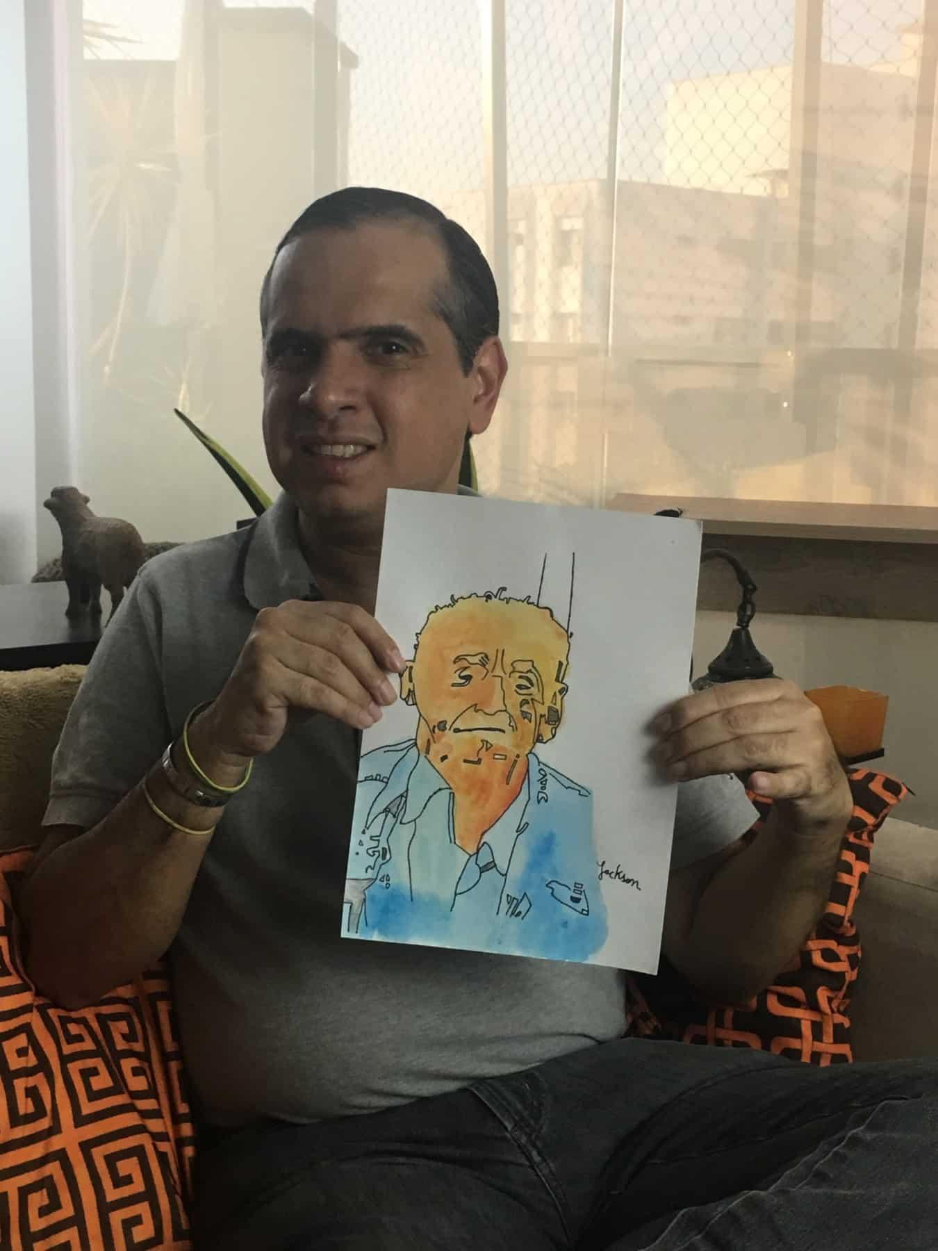 Jackson santana - Jackson Santana retrata personalidades nordestinas em mostra