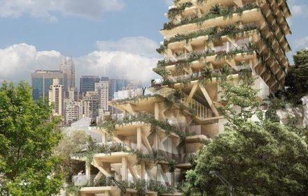 Triptyque Architecture apresenta projeto na 16º Bienal de Arquitetura de Veneza  440x281 - Primeiro edifício de madeira será apresentado na 16º Bienal de Arquitetura de Veneza