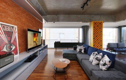 01 Estar IMG 9653 1 440x281 - Espírito urbano é destaque em apartamento em SP