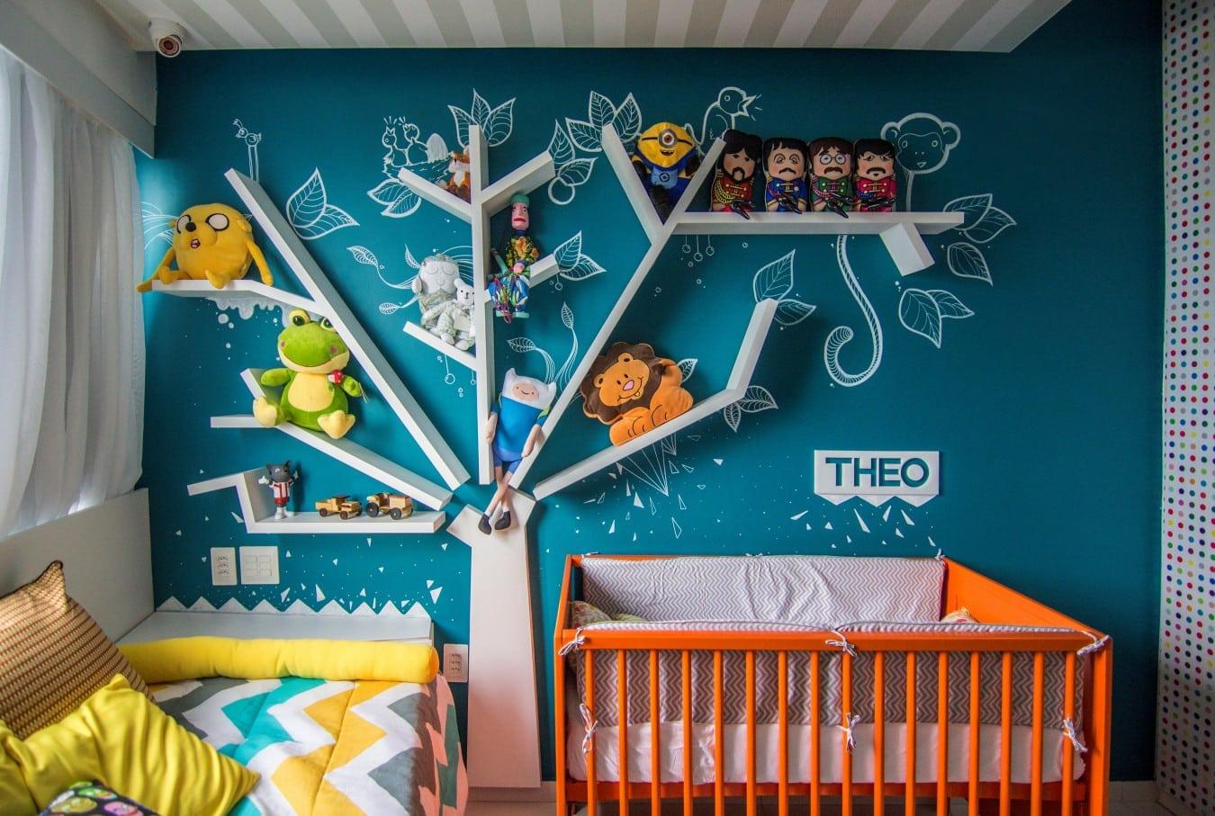 Quarto de bebê 2 Poligonus - Quarto do bebê: conforto e criatividade na decoração