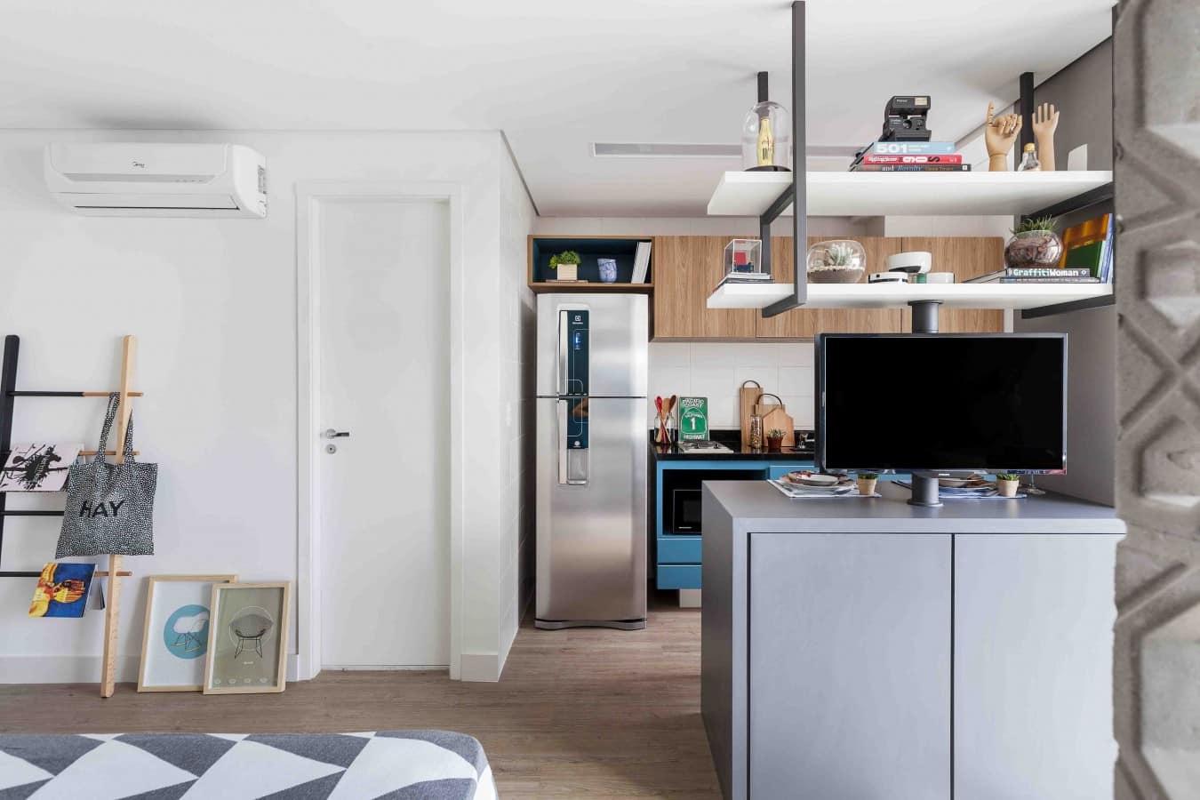 NewAgeMichigan doob arquitetura Foto Julia Ribeiro 47 - Apartamentos compactos: como otimizar os espaços