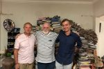 No atelier 2 150x100 - Curadoria franco-alemã realiza residência sobre Paulo Bruscky