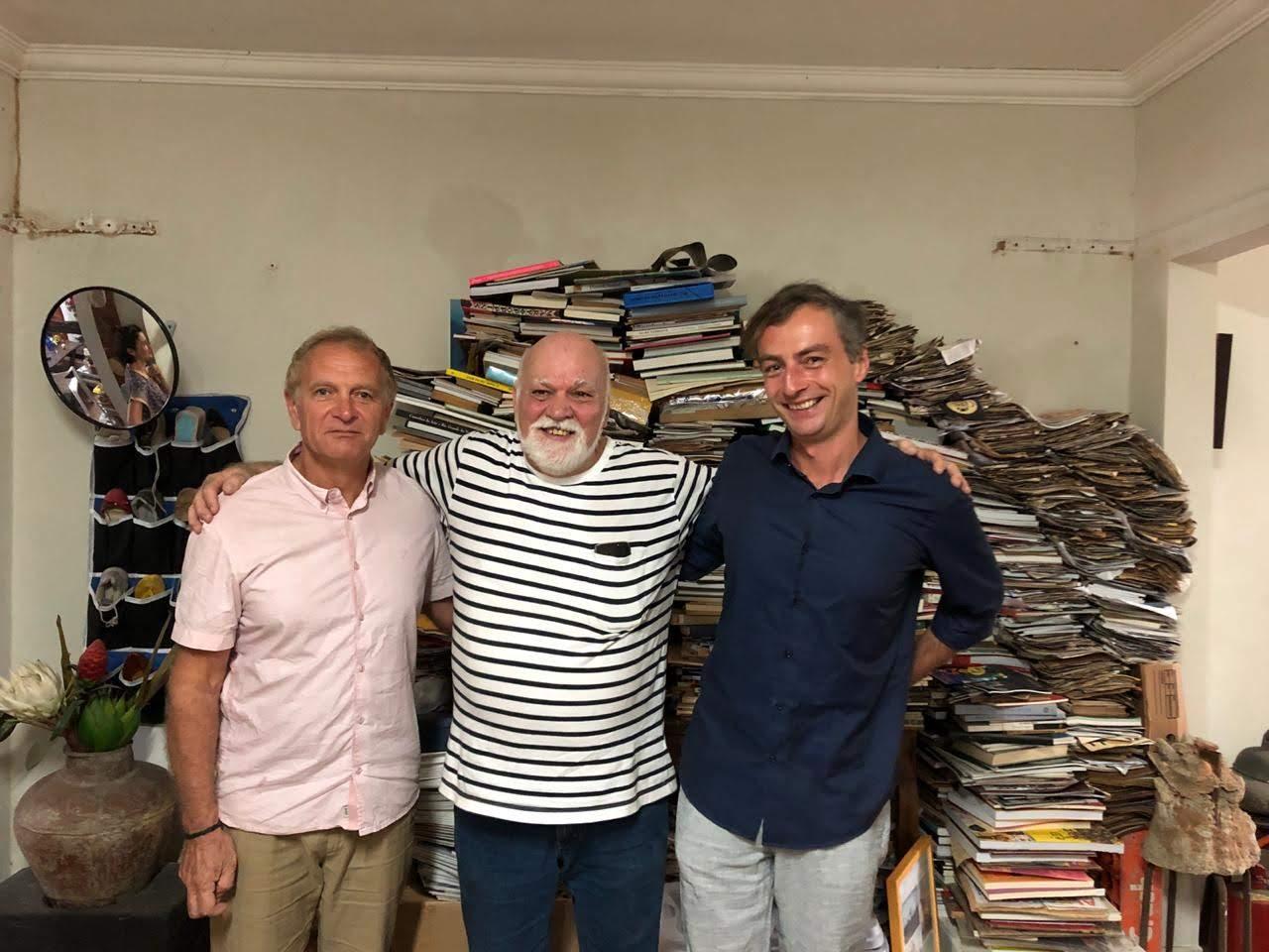 No atelier 2 - Curadoria franco-alemã realiza residência sobre Paulo Bruscky