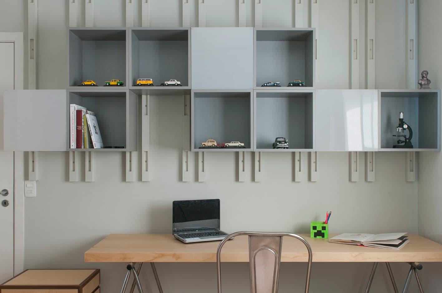Projeto de estantes