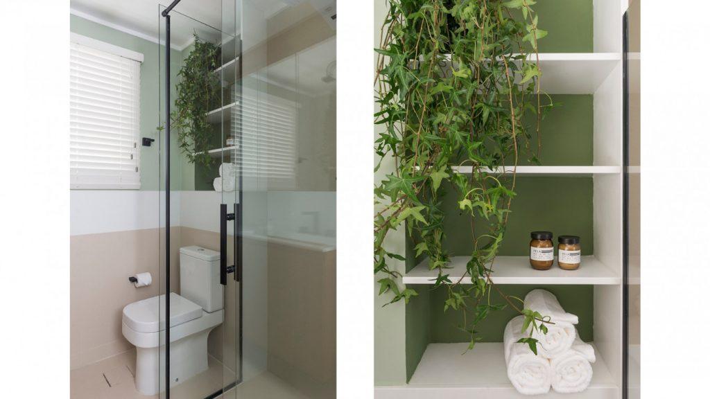 Projeto de estantes: Banheiro