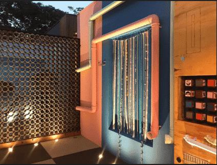 cores e texturas na parede - Arquitetos ensinam como montar playground ecológico