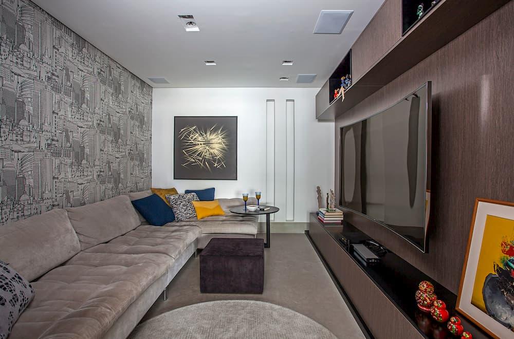 home office fullHD - Escolher papel de parede: A arquiteta Karina Korn dará dicas especiais para você