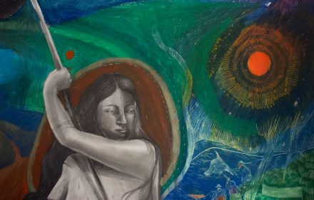 divulgacao obra 2ok 440x281 - Nova exposição na Amparo 60 destaca a força feminina