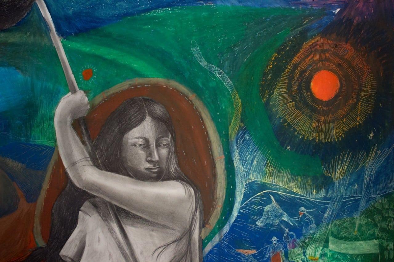 divulgacao obra 2ok - Nova exposição na Amparo 60 destaca a força feminina