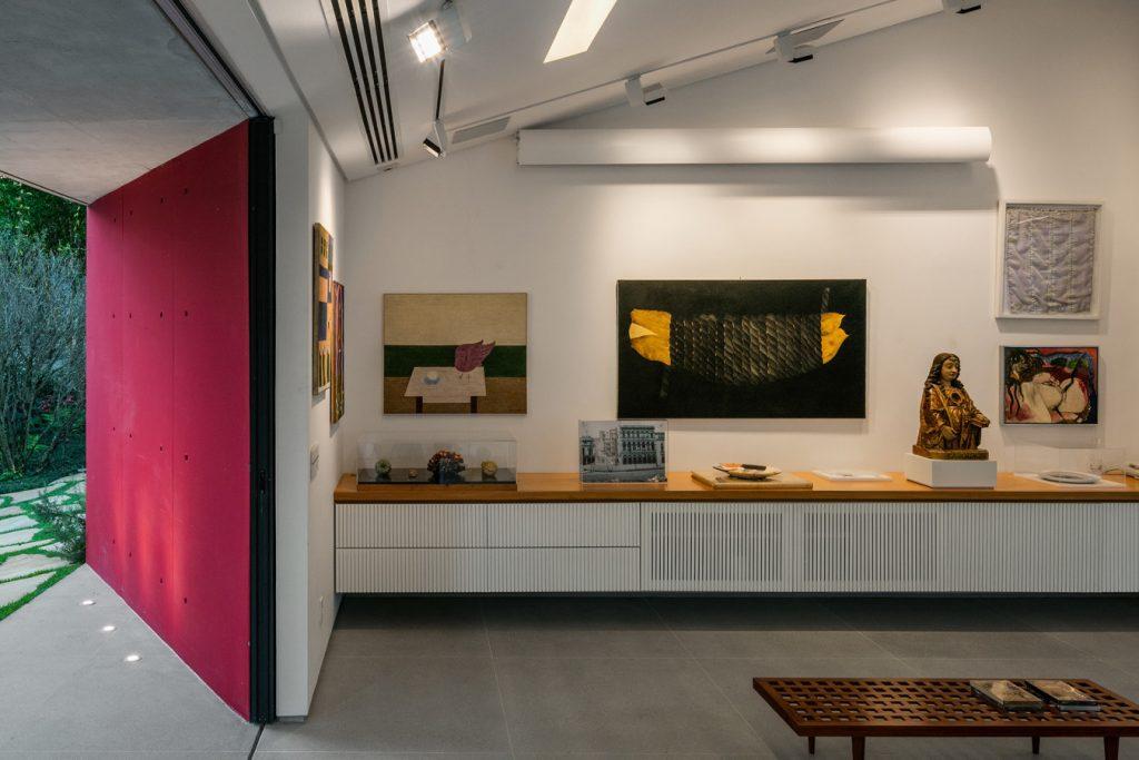 Projeto do escritório Reinach Mendonça Arquitetos Associados Foto: Nelson Kon