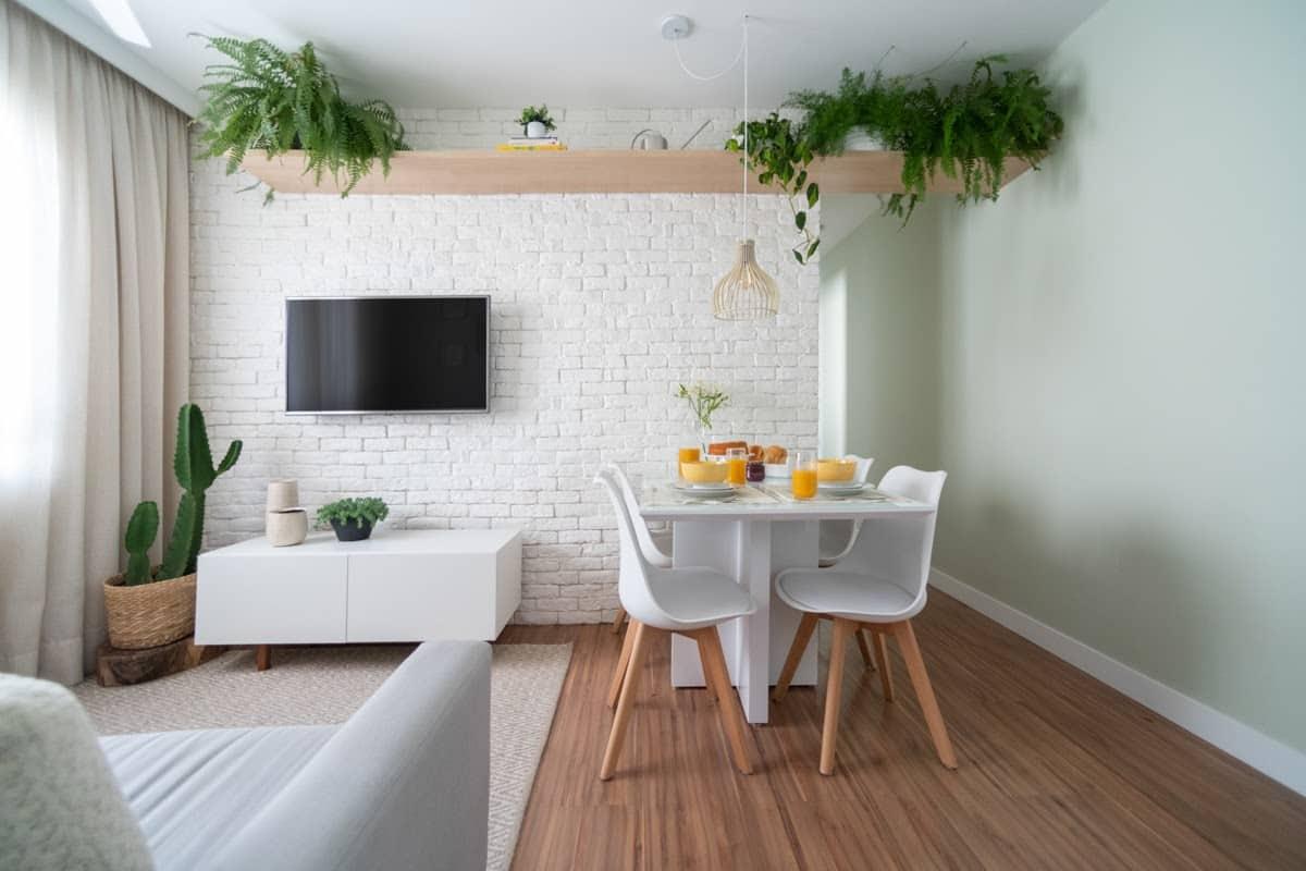 unnamed 3 - Projeto de apartamento pequeno, faz uso da integração