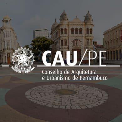 1 Marca CAU PE 390x390 - Porto Social: projeto para estimular ONGs no Recife