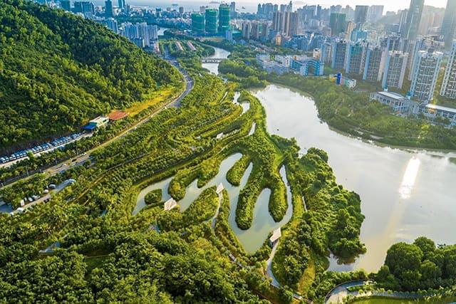 revistaSIM Cidades Esponjas Parque dos Manguezais em Sanya China Credito Turenscape Divulgacao 1 - Você já ouviu falar em Cidades-esponja?