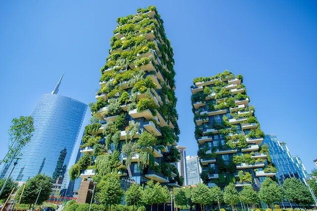 revistaSIM Responsabilidade ambiental Fachada verde Credito Ivan Kurmyshov Shutterstock.com  - Responsabilidade Ambiental:  requisito indispensável para arquitetos
