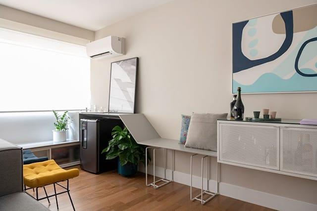 revistaSIM Arquitetura Apartamento Kim por Cota Arquitetura 6 - Confira um projeto de apartamento cheio de estilo e modernidade