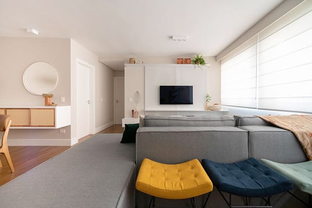 revistaSIM Arquitetura Apartamento Kim por Cota Arquitetura - Confira um projeto de apartamento cheio de estilo e modernidade
