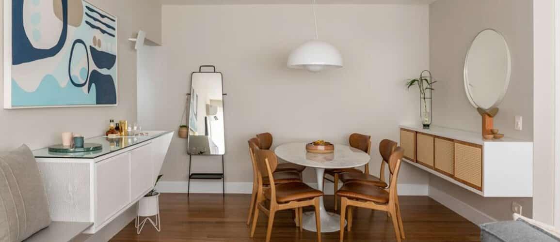 revistaSIM Arquitetura Apartamento Kim por Cota Arquitetura Destaque 1155x500 - Confira um projeto de apartamento cheio de estilo e modernidade