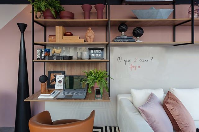 revistaSIM Arquitetura CasaCor 2020 Nejaim Azevedo Studio Vivix 3 Credito PH Nunes - O novo morar pelos olhos do escritório Nejaim Azevedo