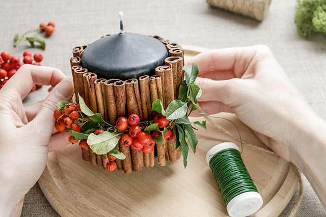 revistaSIM Decoracao Decoracao artesanal de Natal 2 Credito Agnes Kantaruk - Anote as dicas para elaborar uma bonita decoração de Natal