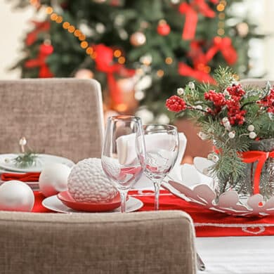 revistaSIM Decoracao Decoracao de mesa de Natal Destaque Credito Pixel Shot 390x390 - Personalidade e estilo na Sala do Vinho