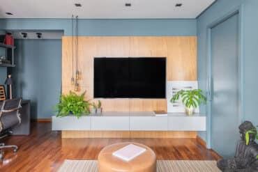revistaSIM Arquitetura Apartamento de 40m DESTAQUE Credito Guilherme Pucci 370x247 - Apartamento de 40m² chama a atenção pelas soluções utilizadas