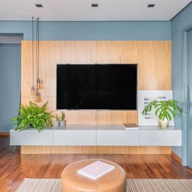 revistaSIM Arquitetura Apartamento de 40m DESTAQUE Credito Guilherme Pucci 390x390 - Tela tensionada oferece modernidade e sofisticação aos projetos