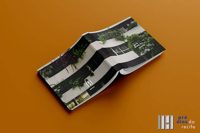 """revistaSIM Arquitetura Livro Predios do Recife Mockup Capa e Verso - O livro """"Prédios do Recife"""" valoriza a arquitetura modernista"""