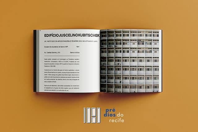 """revistaSIM Arquitetura Livro Predios do Recife Mockup Livro aberto - O livro """"Prédios do Recife"""" valoriza a arquitetura modernista"""