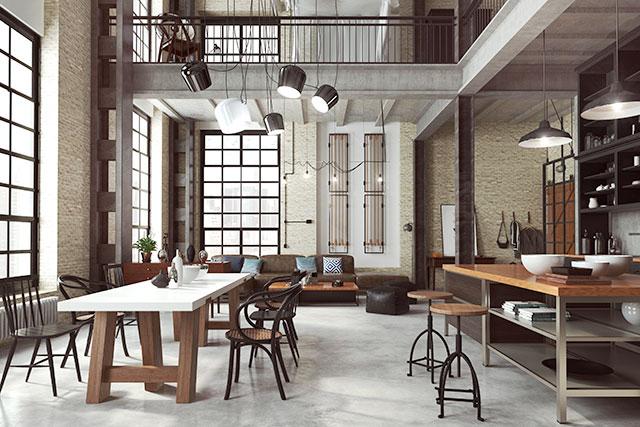 revistaSIM Arquitetura As tendencias para 2021 Madeira Decoracao Industrial Credito Waclaw EPI Shutterstock - Vem conferir as tendências de decoração e arquitetura de 2021