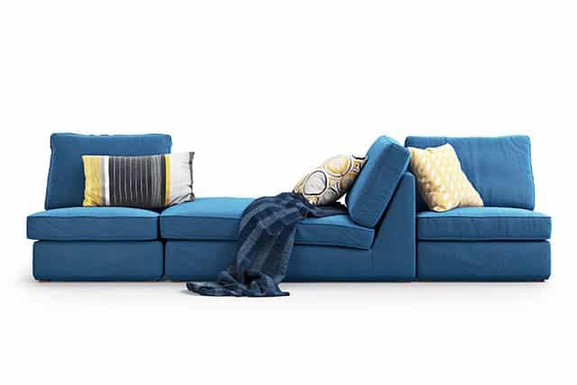 revistaSIM Arquitetura As tendencias para 2021 Sofa bilateral Credito 3dmitruk Shutterstock - Vem conferir as tendências de decoração e arquitetura de 2021