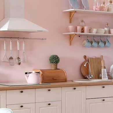 revistaSIM Arquitetura Cozinhas coloridas DESTAQUE Foto New Africa Shutterstock 390x390 - Casa dos anos 70 passa por reforma