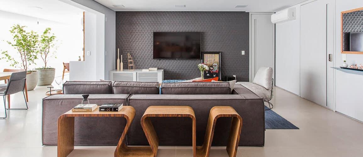 revistaSIM Arquitetura Figa Arquitetura DESTAQUE Credito Thiago Travesso 1155x500 - Confira o projeto de um apartamento contemporâneo e inspire-se!