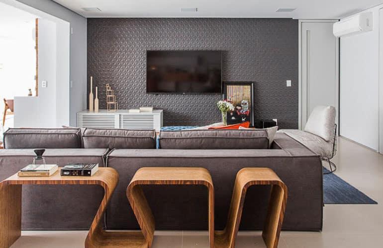 revistaSIM Arquitetura Figa Arquitetura DESTAQUE Credito Thiago Travesso 770x500 - Confira o projeto de um apartamento contemporâneo e inspire-se!