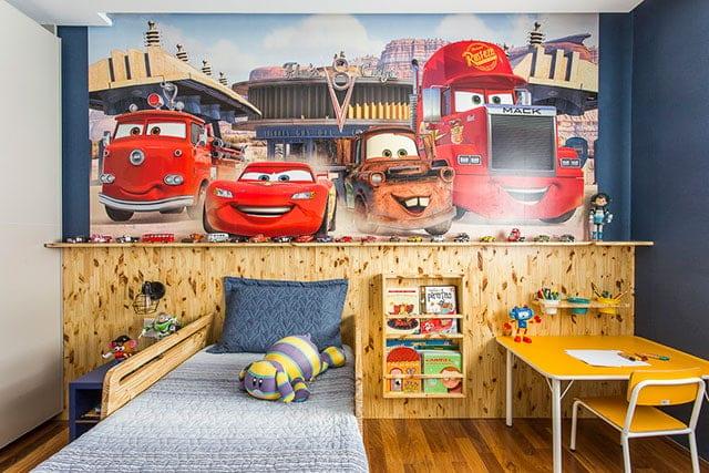 revistaSIM Arquitetura Figa Arquitetura Quarto infantil Credito Thiago Travesso - Confira o projeto de um apartamento contemporâneo e inspire-se!