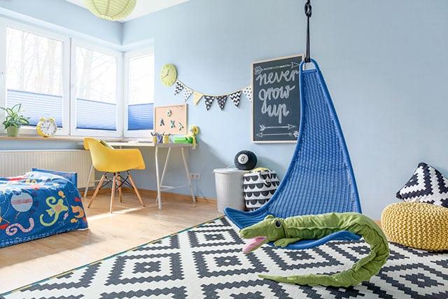 revistaSIM Arquitetura Volta as aulas Quarto infantil cantinho estudo 2 Foto Photographee Shutterstock - Confira as dicas para montar um cantinho de estudo infantil