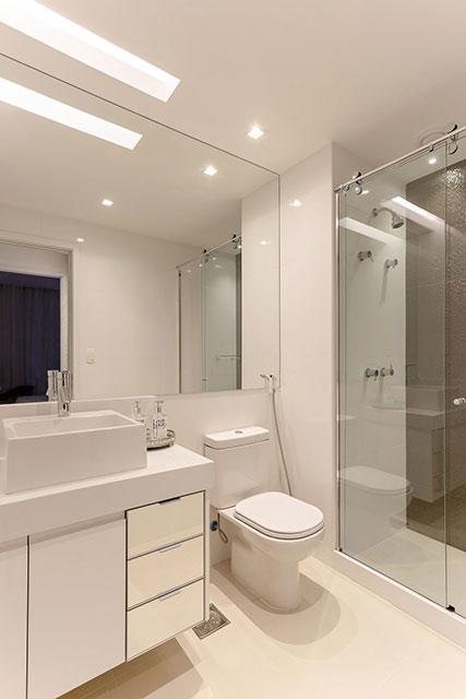 revistaSIM Arquitetura Apartamento 65 m2 Banheiro 2 - Confira o apartamento de 65m² que fez uso da funcionalidade