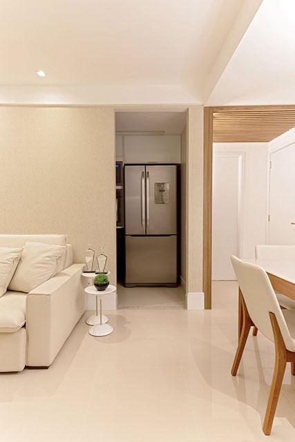 revistaSIM Arquitetura Apartamento 65 m2 Corredor - Confira o apartamento de 65m² que fez uso da funcionalidade