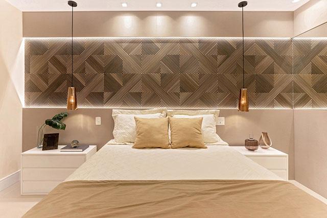 revistaSIM Arquitetura Apartamento 65 m2 Quarto 1 - Confira o apartamento de 65m² que fez uso da funcionalidade
