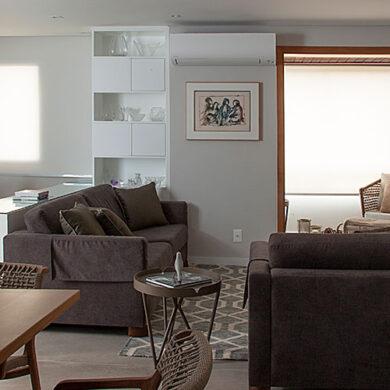revistaSIM Arquitetura Apt 85m2 DESTAQUE Credito Luis Gomes 1 390x390 - Projeto de apartamento de 85 m² aposta em soluções criativas
