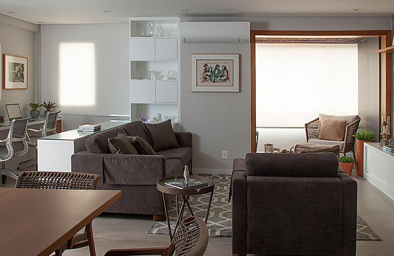revistaSIM Arquitetura Apt 85m2 DESTAQUE Credito Luis Gomes 1 770x500 - Projeto de apartamento de 85 m² aposta em soluções criativas