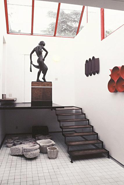 revistaSIM Arquitetura Livro Janete Costa Detalhe interno da casa de janete e borsoi em Sao Conrado RJ - Conheça o novo livro sobre a arquiteta Janete Costa