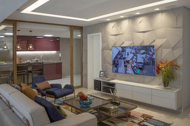 revistaSIM Decoracao Dicas de iluminacao Sala de estar Credito Luis Gomes - Confira um conteúdo completo com dicas sobre  iluminação!