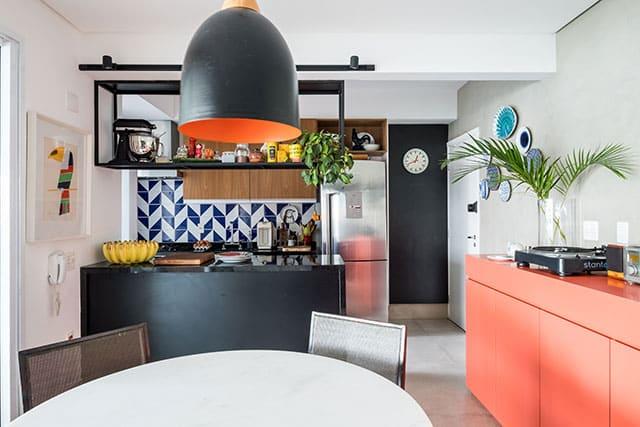 revistaSIM Arquitetura Estudio em Sao Paulo Cozinha 3 Credito Nathalie Artaxo - Projeto de apartamento de 100m² priorizou a identidade do casal