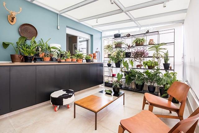 revistaSIM Arquitetura Estudio em Sao Paulo Jardim Credito Nathalie Artaxo - Projeto de apartamento de 100m² priorizou a identidade do casal